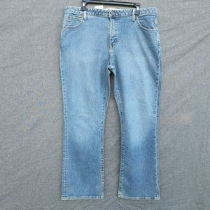 Gap BootCut Slightly Loose Jeans Sandblasted Fade